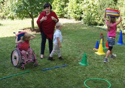 Im Garten mit Frau Dr. Buchhold